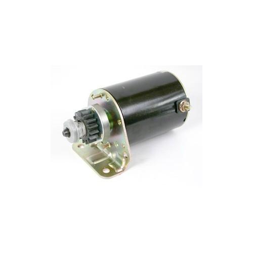 Demarreur elec origine pignon plastique l corps 10cm d'origine référence 497595 pour moteur Briggs et Stratton
