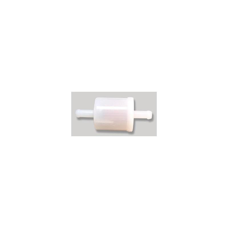 Filtre a essence blanc diamètre tube 7mm d'origine référence 691035 pour moteur Briggs et Stratton