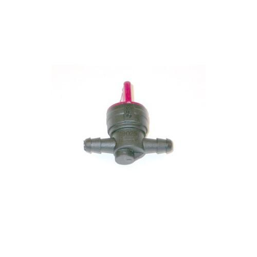 Robinet essence droit tube diamètre 6 mm d'origine référence 698183 pour moteur Briggs et Stratton