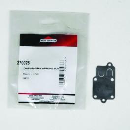 Membrane de carburateur d'origine référence 270026 pour moteur Briggs et Stratton