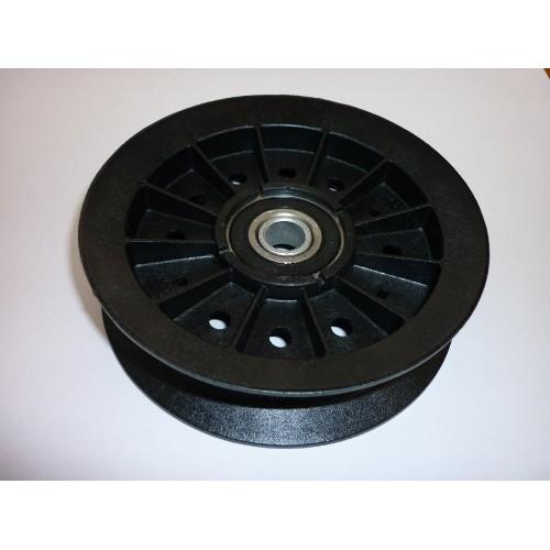 Galet tendeur diamètre ext 122 diamètre int 102 ales 12.5 d'origine référence 774089MA pour moteur Briggs et Stratton