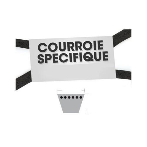 Courroie A96.5 remplace 135062001/1 pour marque GGP / CASTEL GARDEN / HONDA