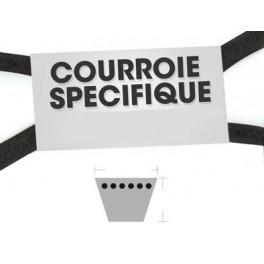 Courroie trapézoïdale adaptable...