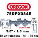 Chaine de tronçonneuse 3/8 1,6 84E Oregon référence 75DPX084E