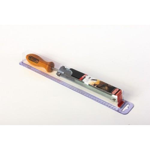 """Kit lime ronde 5.5mm (7/32"""")  avec porte-lime affûtage chaîne tronçonneuse 13252C"""
