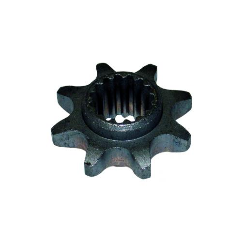Pignon de transmission 8 dents d'origine référence 0306050016 pubert