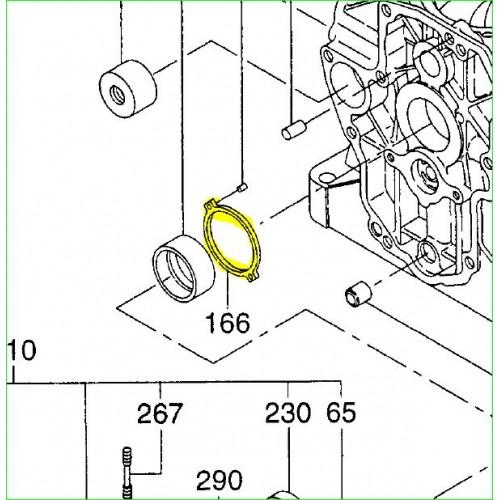 Butée de bague de palier 228-15002-03 Robin Subaru