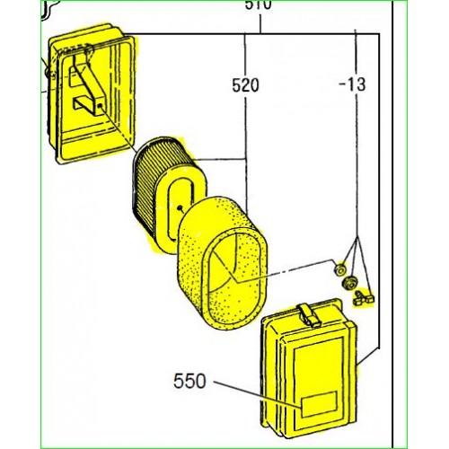 Filtre à air complet d'origine référence 231-32603-00 robin