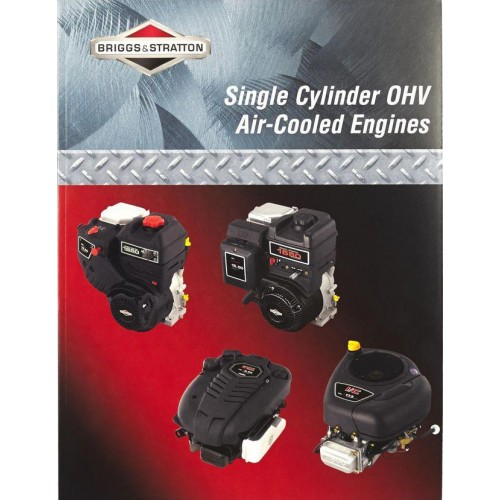 Manuel atelier 276781 en Anglais pour moteur monocylindre OVH Briggs et Stratton