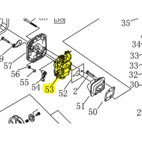 Carburateur complet d'origine référence 462606  Alko