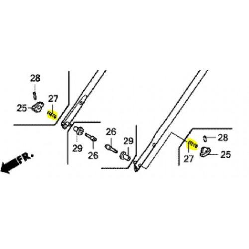 Ressort de réglage d'origine référence 53367-VL0-B00 Honda