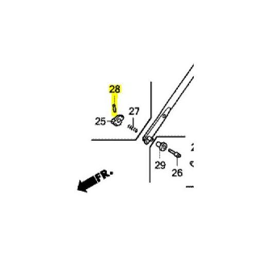 Goupille élastique d'origine référence 90751-VL0-B00 Honda