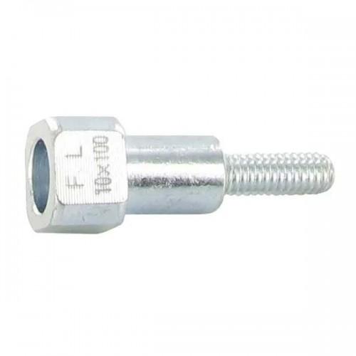 insert adaptateur 10x100 femelle référence 91323R pourTête nylon 2 fils OREGON 108461A