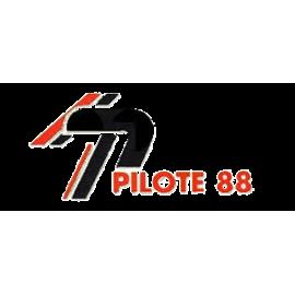 Poulie, galet tendeur et couronne pour motobineuse et motoculteur Pilote 88